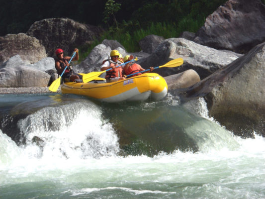 White Water Rafting in La Ceiba