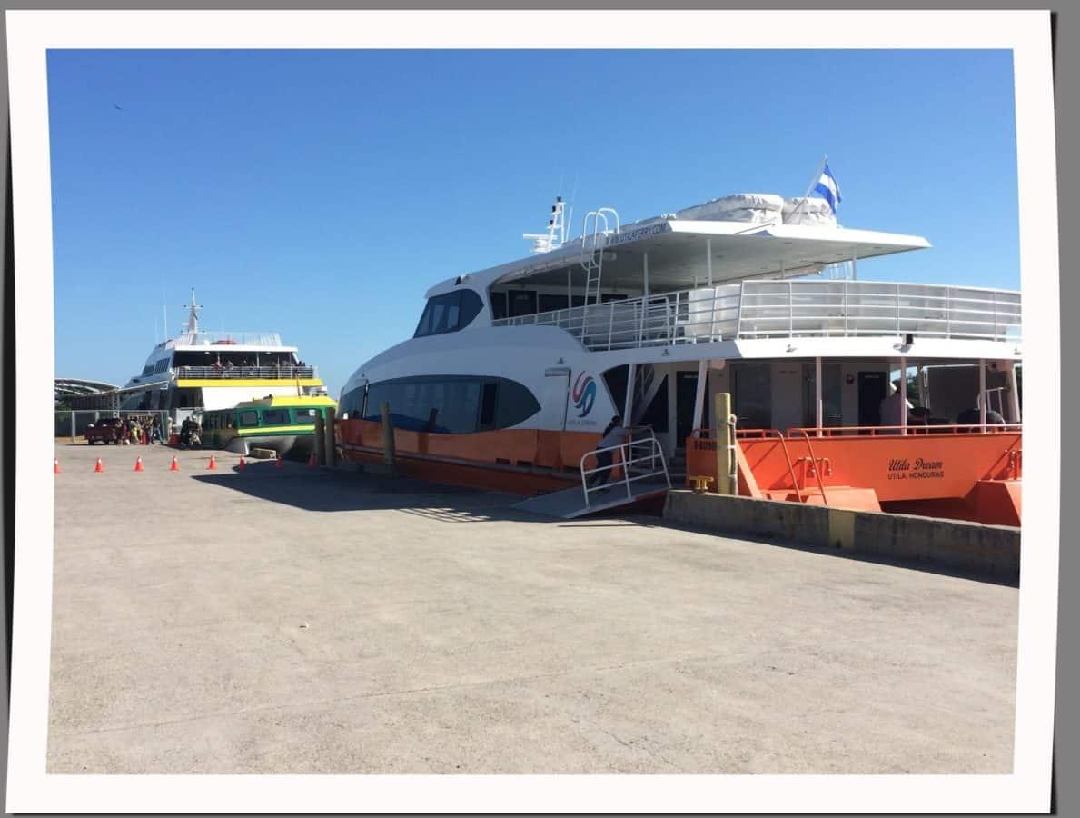 maritime travel throughout Honduras