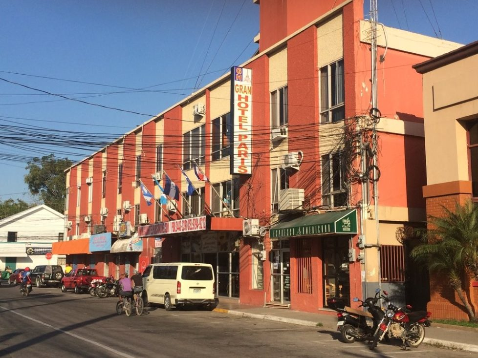 downtown La Ceiba hotels