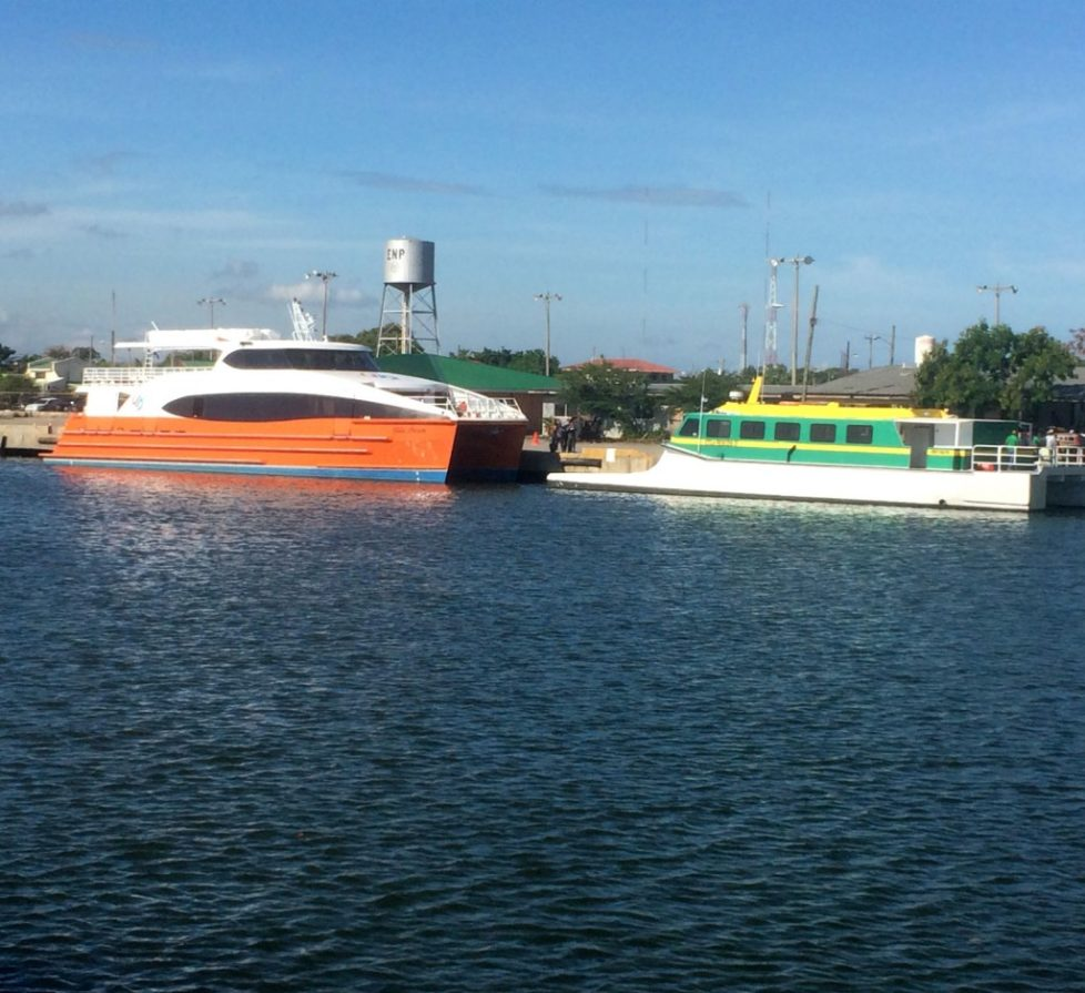 getting to Utila