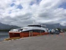 Traveling between the Bay Islands
