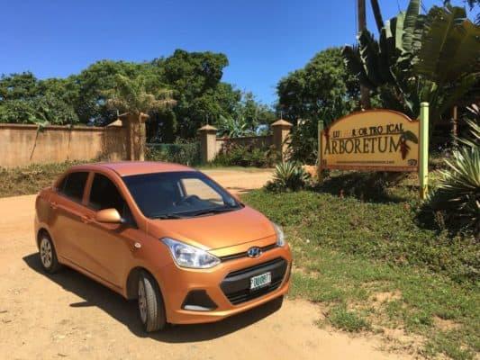 Roatan Rent a Car Adventure