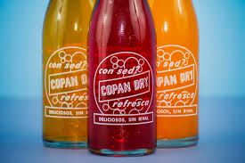 Copan Dry, a Local Bottled Soft Drink From Honduras.