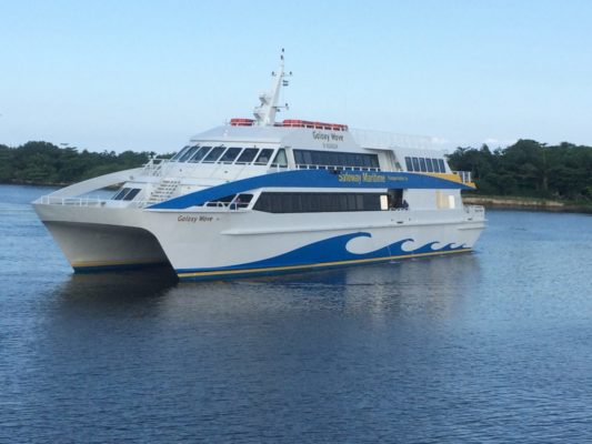 What to do if the Bay Island Ferry Boats Don't Run.
