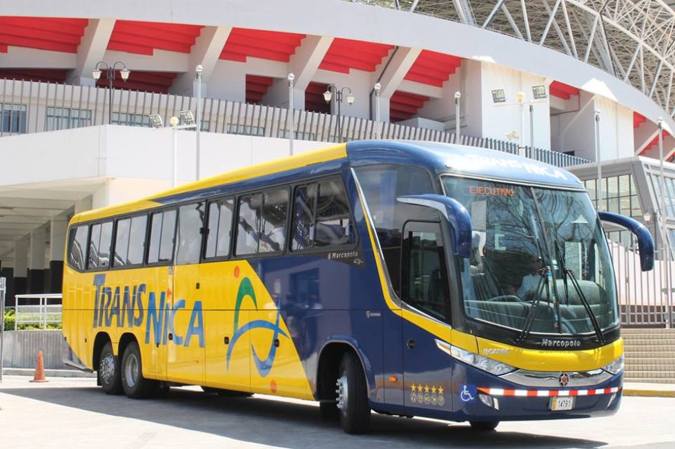 International bus routes from Tegucigalpa