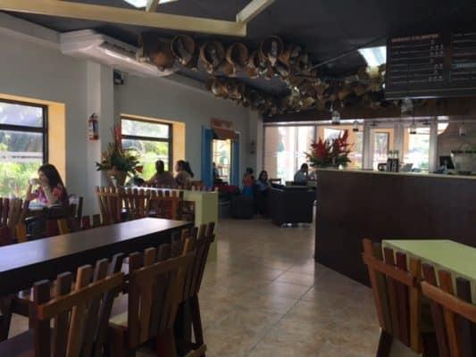 New Cafe in La Ceiba