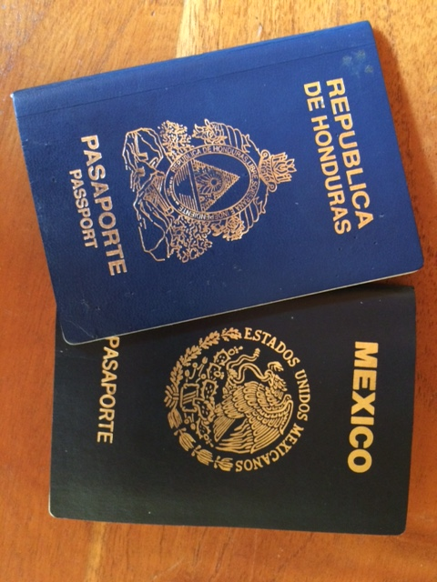 what to do if you lose your passport in Honduras