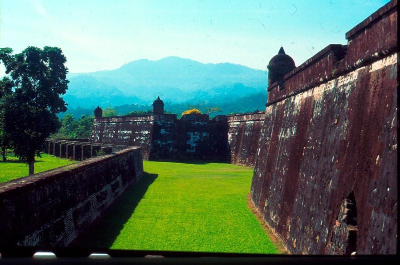 Colonial buildings in Honduras