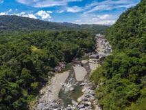 The Cangrejal River Valley in La Ceiba