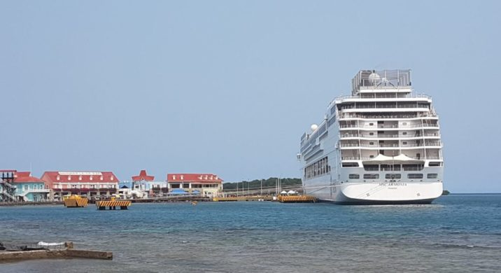 MSC Armonia Cruise Ship collides
