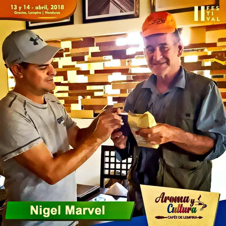 nigel marvin en Gracias