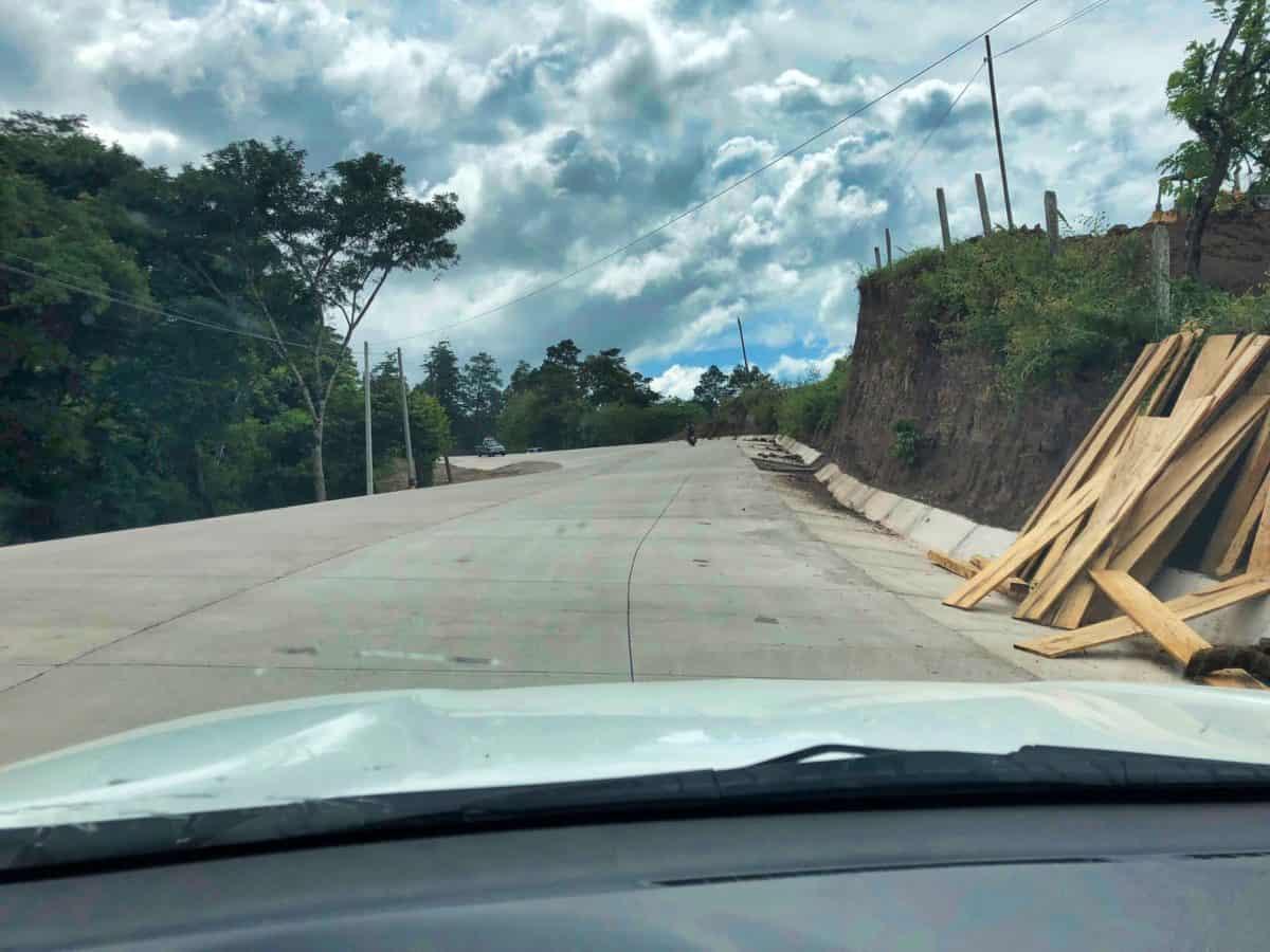 Copan Ruinas highway update