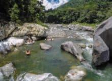 la cuenca del Rio Cangrejal