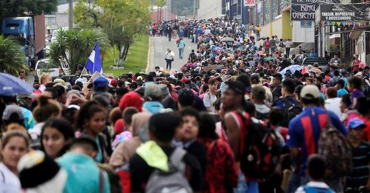 Migrant Caravan from Honduras