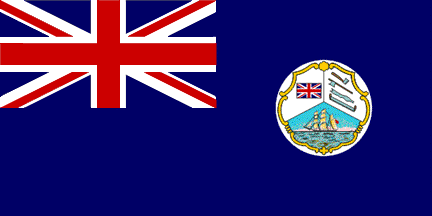 British Honduras Colonial Flag