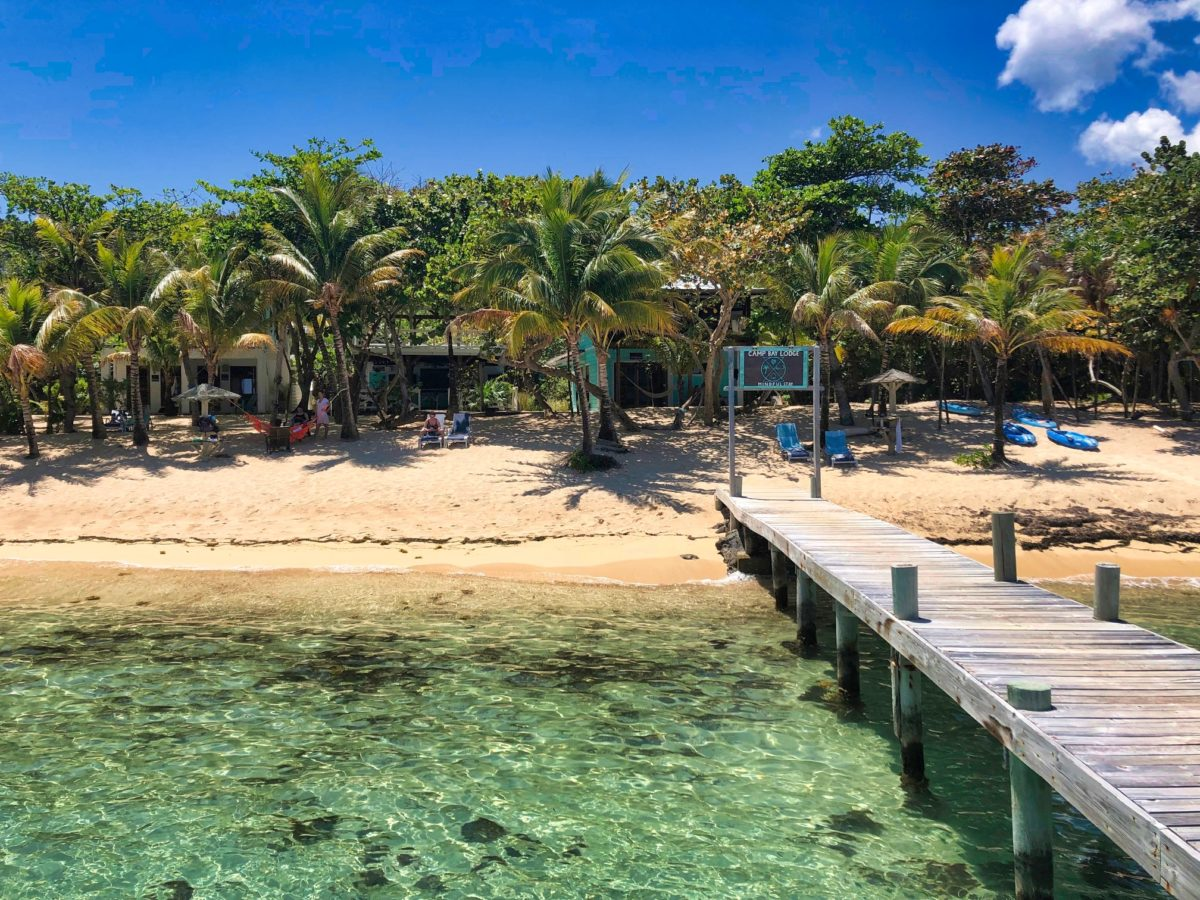 Two different faces of Roatan
