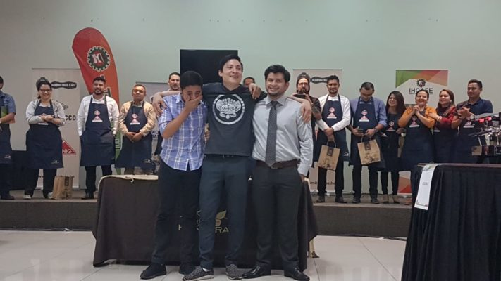Carlos Guerra from Café San Rafael wins the Honduras National Barista Contest!