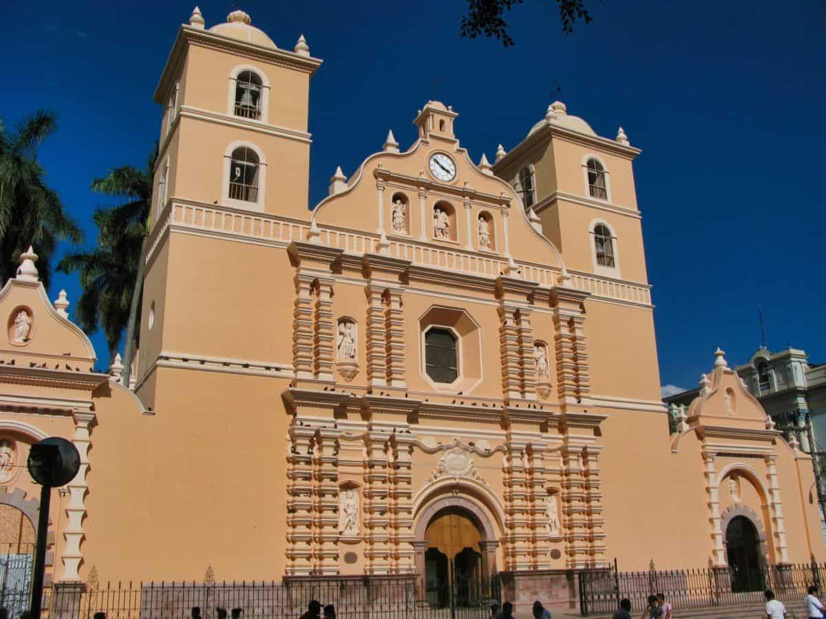 Plaza Morazan in Tegucigalpa