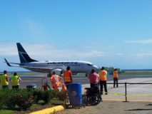 WestJet Inaugural Flight to Honduras