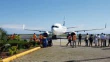 WestJet Inaugural Flight