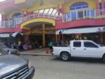 Market scene at el Progreso