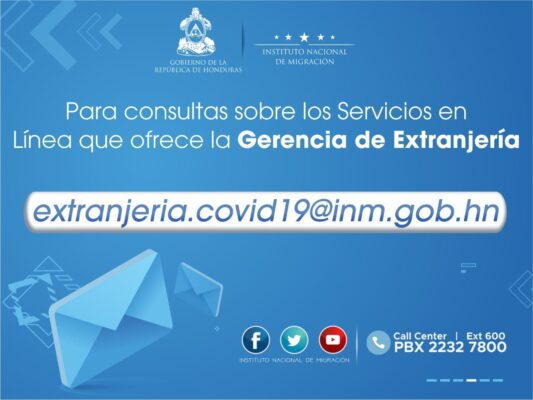Honduras Immigration Office Online?
