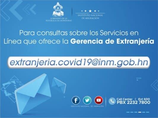 Honduras Immigration Office Online?