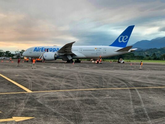 Air Europa Resumes Service to Honduras