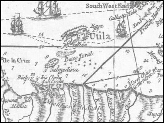 map of La Ceiba